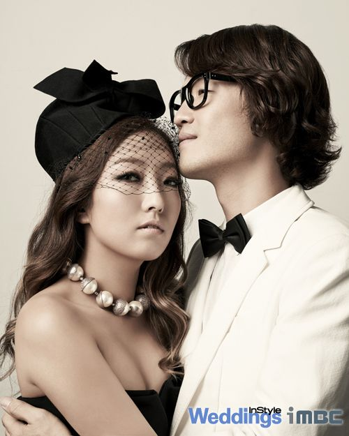 We Got Married Korean Variety Show --- Jo Jung Chi and Jung In - InStyle Weddings Magazine