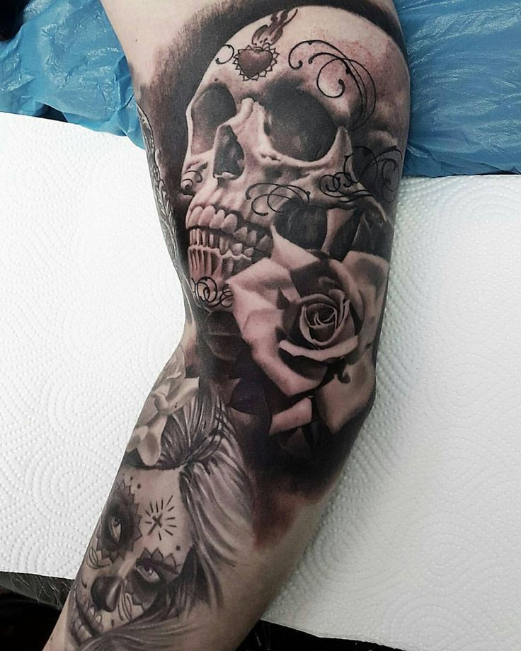rose skull tattoo messy skull sleeve tattoos skull tattoo design sugar skull tattoos