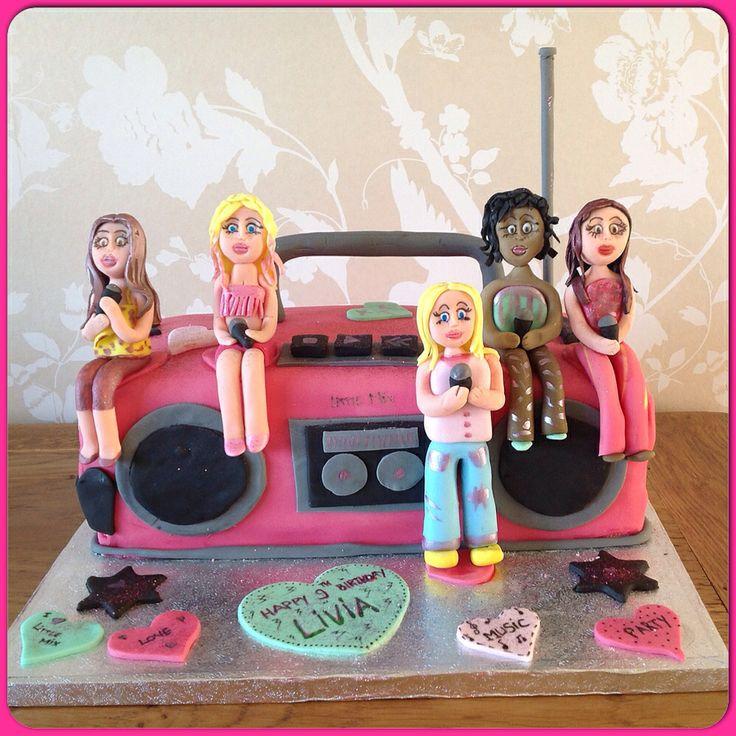 Little Mix / Boombox Novelty Birthday Cake