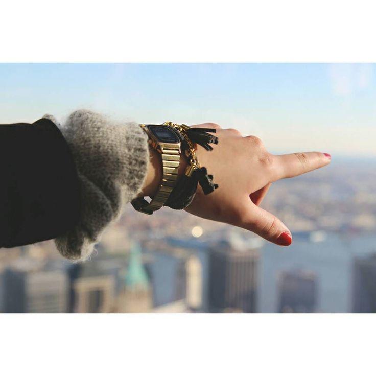 Bransoletka Haribo z kolekcji Glamour z Alicją w NYC  @aliceanigacz #haribo #glamour #zelki #polishdesigners #polscyprojektanci #bizuteria #oneworldobservatory #zelkiharibo #nyc #newyork #usa  Dziękuję za każde zdjęcie do  ! by lasuchowo