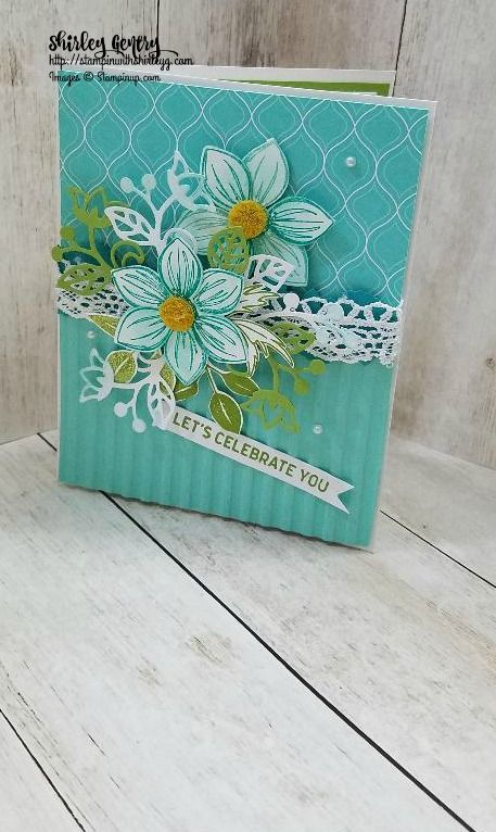 Stampin' Up Floral Essence – Stampin with Shirley G