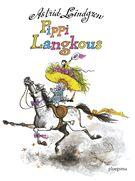 Pippi Langkous is 70 jaar!  Pippi is het sterkste meisje van de wereld, en ze woont helemaal alleen in Villa Kakelbont. Nou ja, niet helemáál alleen, want ze heeft een aapje en een paard. Gelukkig komt haar vader eens in de zoveel tijd langs om een nieuwe koffer met gouden tientjes te brengen. Samen met buurkinderen Tommy en Annika beleeft ze de gekste avonturen!  Alle drie de boeken over Pippi staan in deze dikke bundel.