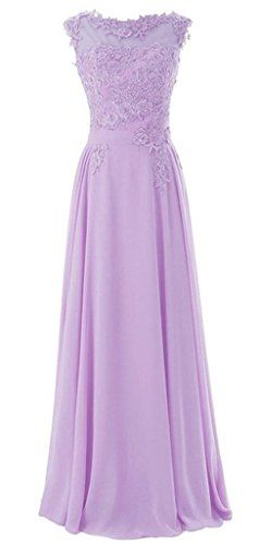Sunvary Appliques and Chiffon Long Bridesmaid Dress for Wedding Party Size 14- Lilac Sunvary http://www.amazon.com/dp/B00ITLG4KM/ref=cm_sw_r_pi_dp_rBC5wb02Q1KF8
