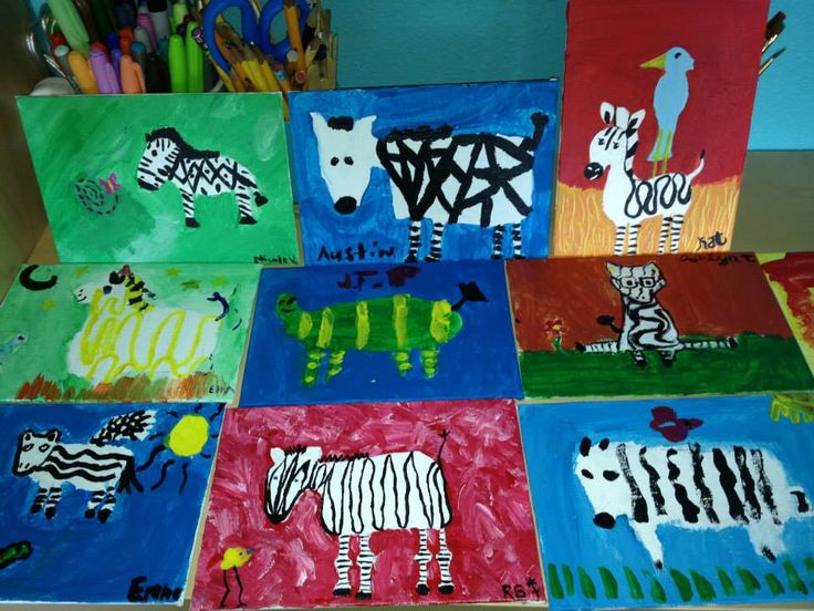 Preschoolers and Home-Schoolers Painting and Drawing   The Art Garage   Ages 4-8   $25 per session