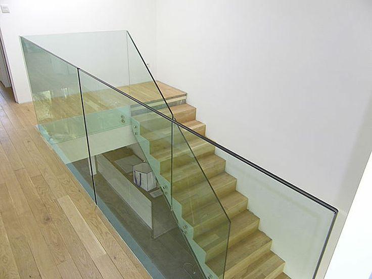 die besten 17 ideen zu glasgel nder auf pinterest treppe. Black Bedroom Furniture Sets. Home Design Ideas