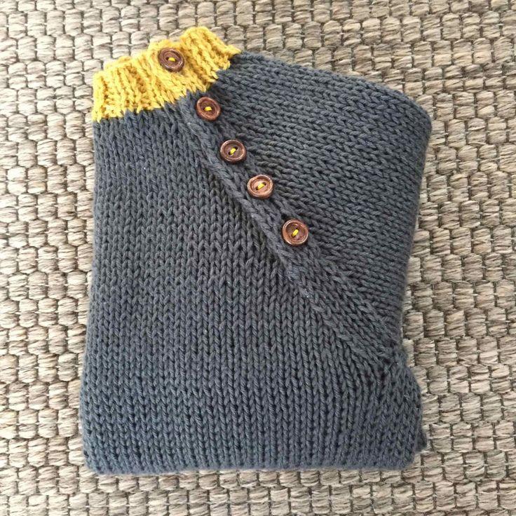 Opskrift raglansweater med knapper