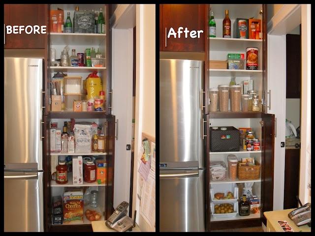 Kitchen Cabinets Organization Pinterest