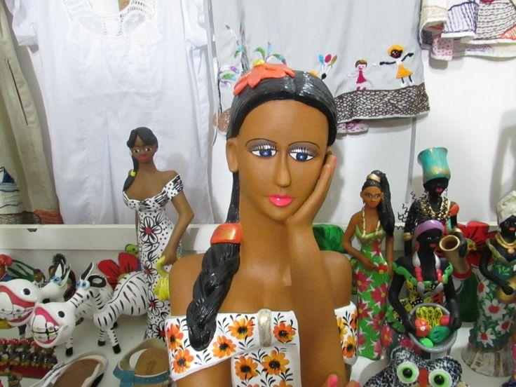 Artesanía local en #Fortaleza Ceará #Brasil