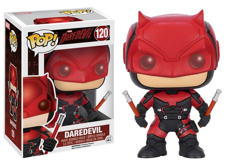 Pop! Marvel: Daredevil TV - Daredevil Red Suit   Funko