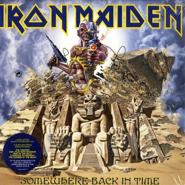 Iron Maiden, Somewhere Back In Time*****: Here's a greatest hits album that is worthy of the greatest hits moniker. There's not a bad track on here, and I like how the songs on here are pieced together in an interesting running order other than chronological. In other words, there's an attempt to make a compelling album out of the best tracks from each of the albums from the band's early era. I'm anxious to here the follow up compilation that looks at their efforts between 1990 and 2010…