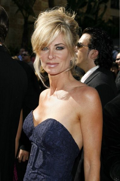 Eileen Davidson during 34th Annual Daytime Emmy Awards Arrivals at Kodak Theater in Hollywood California United States