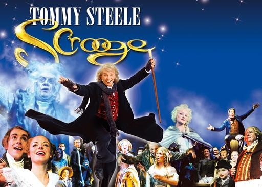 Scrooge, the musical - seen twice in Oxford, firstly with Anthony Newley and secondly with Tommy Steele