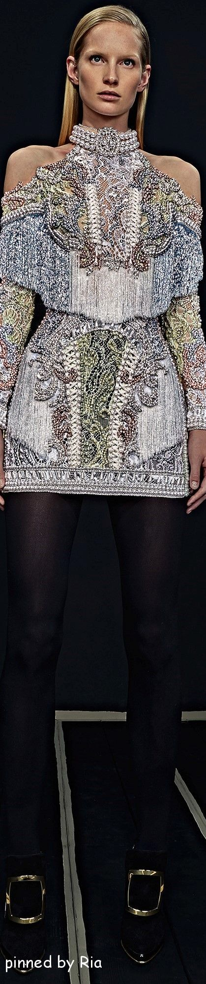 BALMAIN PRE FALL 2016 FASHION SHOW