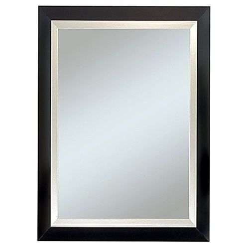 New Large Black Wall Mirror Rectangle Framed Art Furniture
