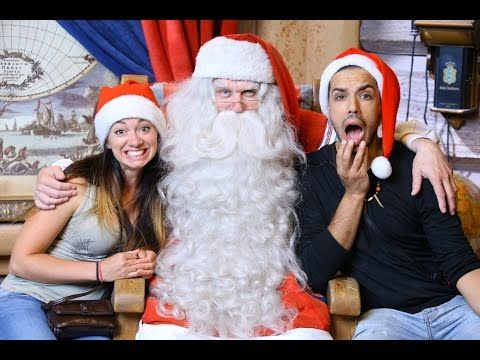 MEETING THE REAL SANTA CLAUS IN FINLAND - YouTube