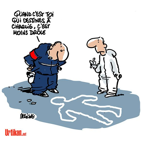 Charlie Hebdo paraîtra la semaine prochaine - Dessin de Deligne - Les hommages dessinés à Charlie Hebdo #je_suis_charlie
