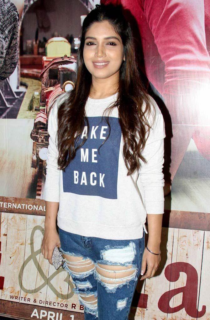 Bhumi Pednekar at the screening of Ki and Ka. #Bollywood #Fashion #Style #Beauty #Hot