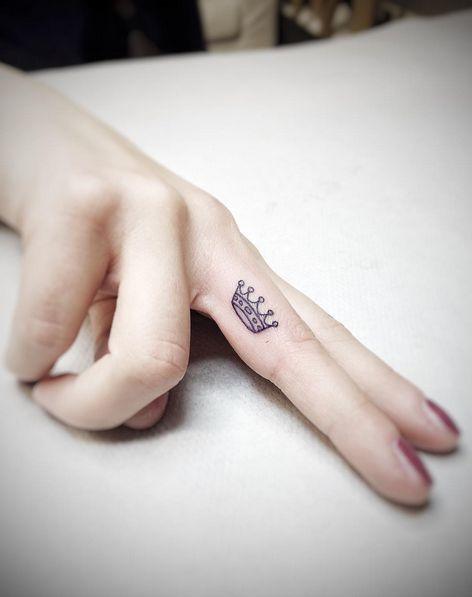Mini tatuajes súper lindos y discretos