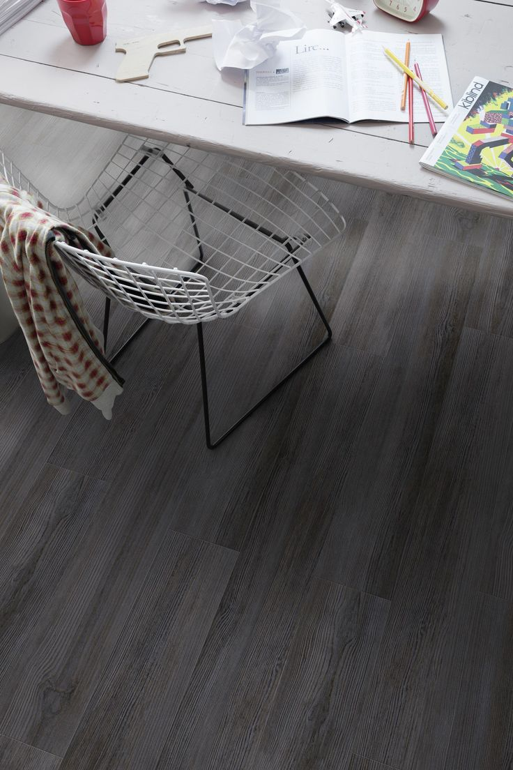 Gravity Dark - Creation 55 by Gerflor #flooring #design #vinyl