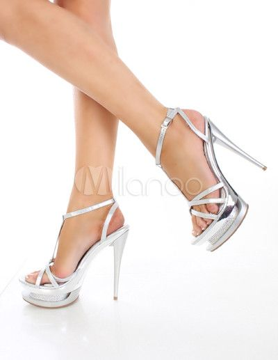#Milanoo.com Ltd          #Sexy Sandals             #Sexy #Silvery #Leather #7/10'' #High #Heel #1/2'' #Platform #Womens #Sandals                           Sexy Silvery PU Leather 5 7/10'' High Heel 1 1/2'' Platform Womens Sandals                              http://www.snaproduct.com/product.aspx?PID=5719327