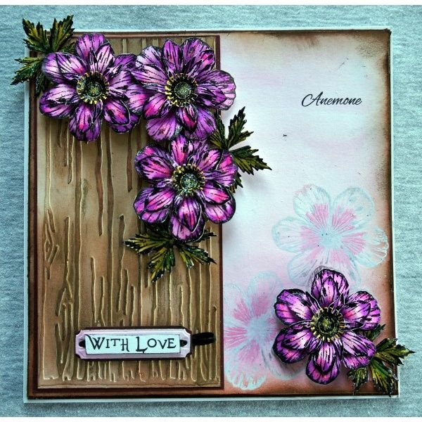 Sheena Douglass Perfect Partners Victorian Floral Anemone Die
