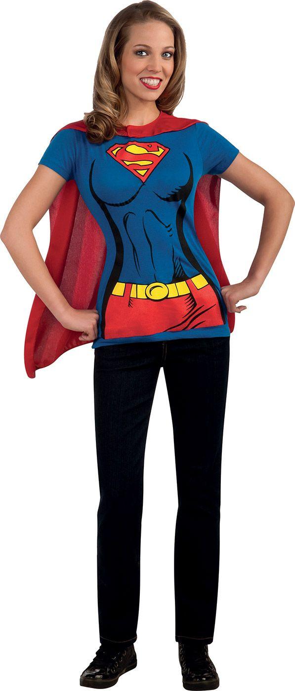 Women Superhero Costume Shirts