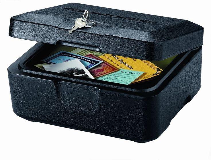 Fireproof Safe Lock Box Cash Money Home Security Chest Jewelry Storage Safety #SentrySafe