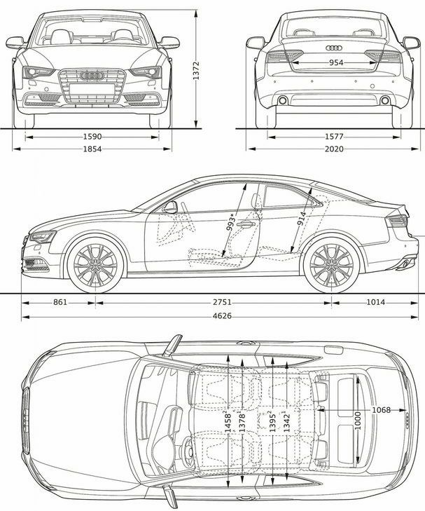 The 185 best car blueprints images on Pinterest