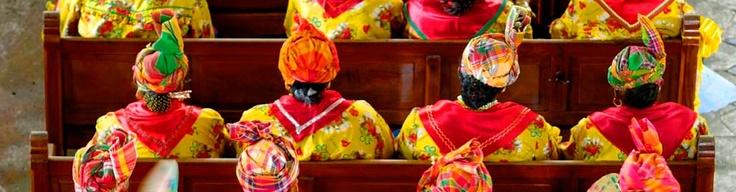 La tradition: messe des cuisinières de Guadeloupe
