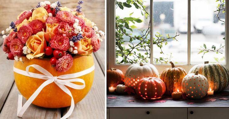 10 Kouzelných podzimních DIY dekorací