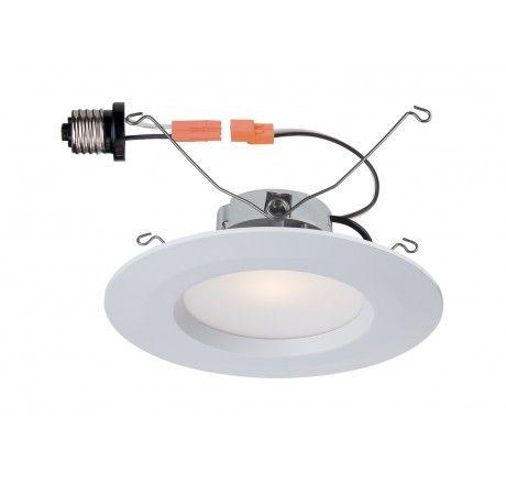 "Designers Fountain LED6730-WH 5""/6"" LED Recessed Trim"