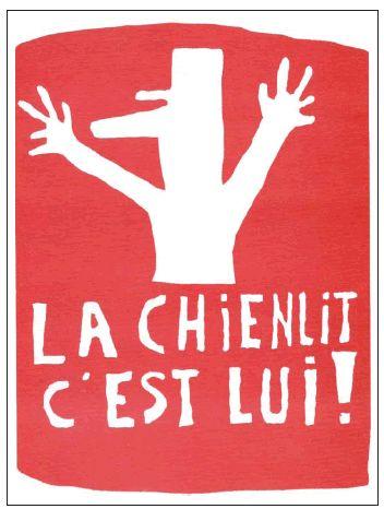 Atelier Populaire, La chienlit c'est lui!, May 1968