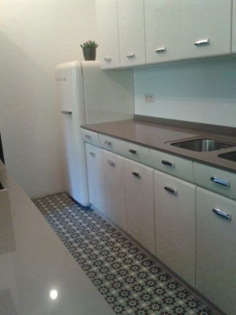 Moderne keuken cementtegels pinterest - Outs studio keuken ...