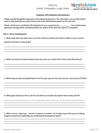 Best 25+ Employee evaluation form ideas on Pinterest Self - employee self assessment