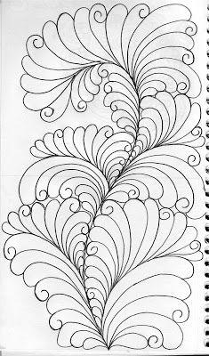 LuAnn Kessi: Sketch Book.....Evolution of a Feather Tutorial