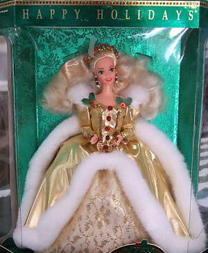 Think I would get a holiday barbie for Christmas every year