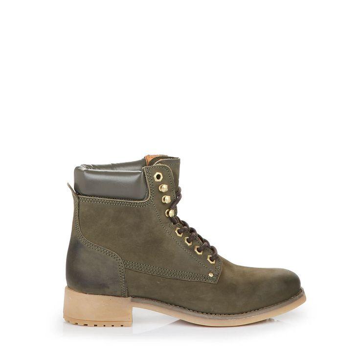 BUFFALO Buffalo boots in dark green