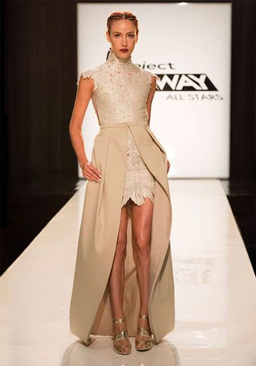 Project Runway All Stars 4-3 Wicked Challenge Sonjia