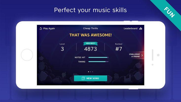 Piano app by Yokee FamilyGamesappsios Piano, App