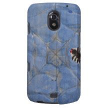 Art by Children, Spider with cobweb, drawing Samsung Galaxy Nexus Case