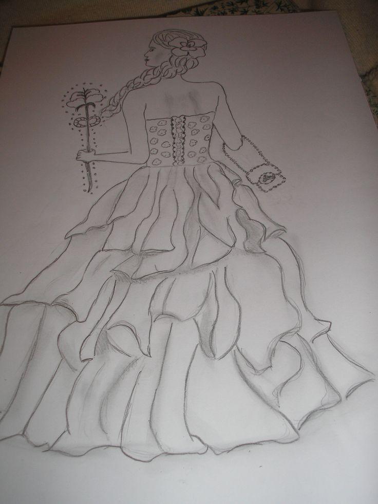 princess in a fairytale
