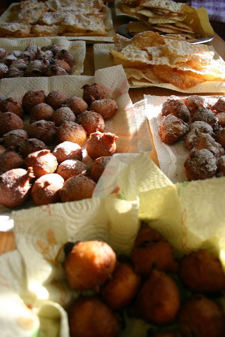 pieces of pics : recipe: carnival Venician's frittelle