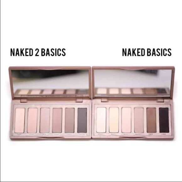 Urban decay naked basics 1 and 2 •NEW •One Size •Price is firm! •Brand: Urban Decay •This is for both palettes ❗️I do not have the boxes ❌No trades! No lowest! No lowballers! Urban Decay Makeup Eyeshadow