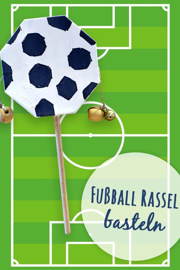 Basteln Zum Thema Fussball Mit Kindern Basteln