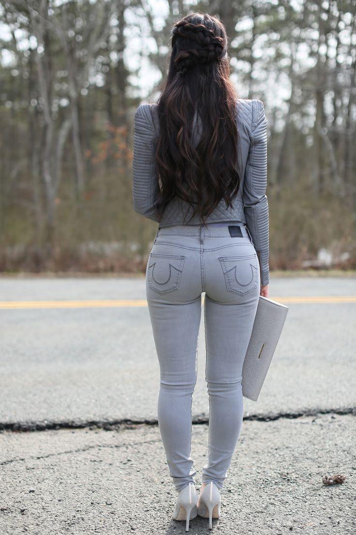 медленно фотоподборки попок девушек в джинсах брюках меня требовалась полная