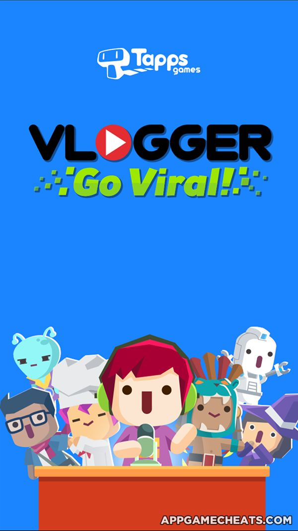 Vlogger Go Viral - Clicker Hack, Tips, & Cheats for Views & Diamonds  #Arcade #Simulation #Strategy #VloggerGoViral http://appgamecheats.com/vlogger-go-viral-clicker-hack-tips-cheats/
