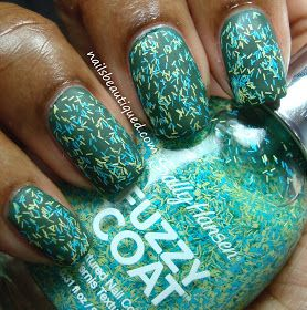 Zoya Hunter with a Fuzzy Coat | Nails Beautiqued