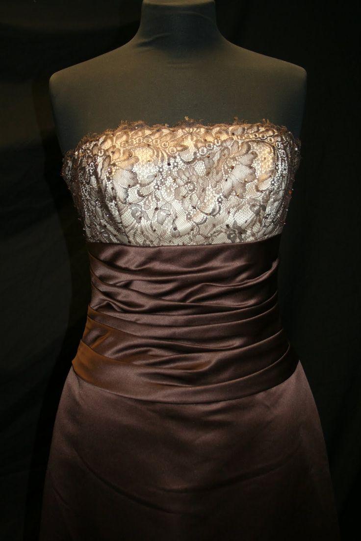 The 25 best chocolate bridesmaid dresses ideas on pinterest chocolate brown bridesmaid dresses bridesmaid dresses chocolate brown different dresses ombrellifo Choice Image