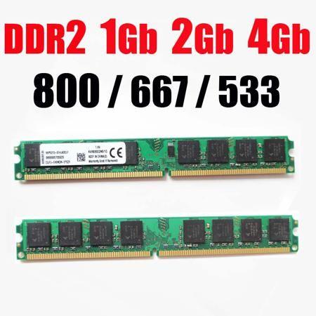 4gb DDR2 RAM 2Gb ddr2 800 667 533 Mhz - 1Gb 2 G 4 Gb / for AMD For Intel memoria ddr2 2Gb ram 800Mhz ddr 2 memory PC2 6400  — 268.96 руб. —