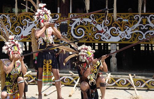 Dayak Traditional Weapon (Kalimantan - Indonesia)